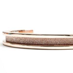 Gold Glitz Hair Tie Bracelet by Maria Shireen